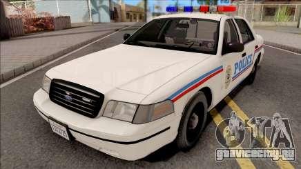 Ford Crown Victoria 1999 SA State Police для GTA San Andreas