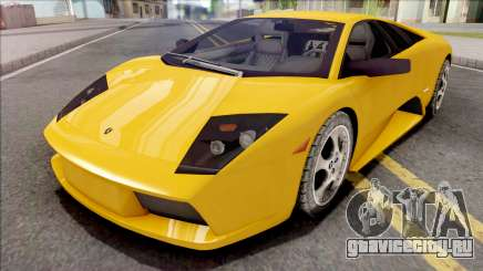 Lamborghini Murcielago Yellow для GTA San Andreas