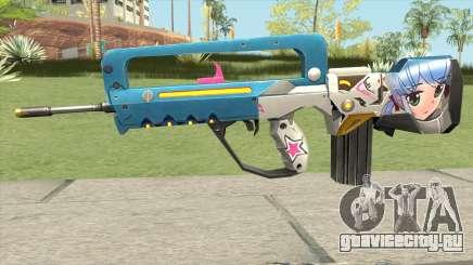 Famas Weaboo для GTA San Andreas