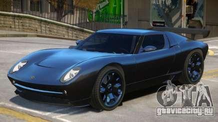 Lamborghini Miura Stock для GTA 4
