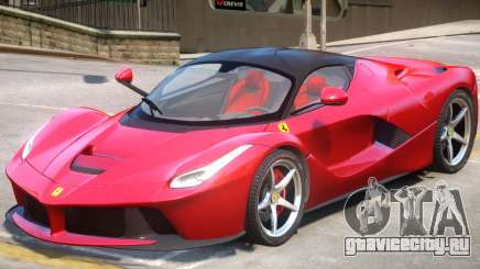 Ferrari LaFerrari Upd для GTA 4