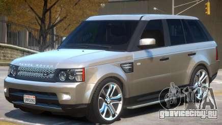 Range Rover Sport V1.1 для GTA 4