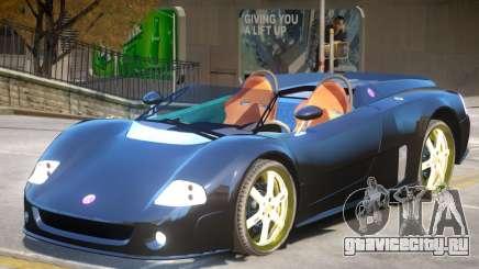 Volkswagen W12 Roadster для GTA 4