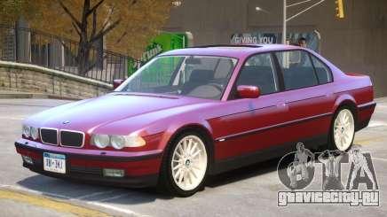 1998 BMW 750iL V1.1 для GTA 4