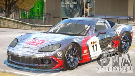 Chevrolet Corvette GT PJ1 для GTA 4