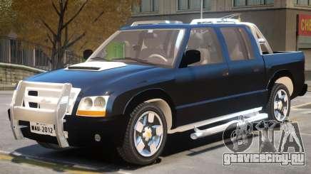 Chevrolet S10 V1 для GTA 4