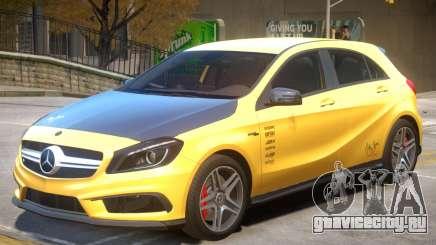 Mersedes Benz A45 V1 PJ4 для GTA 4
