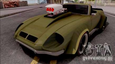 FlatOut Lancea Cabrio Custom для GTA San Andreas