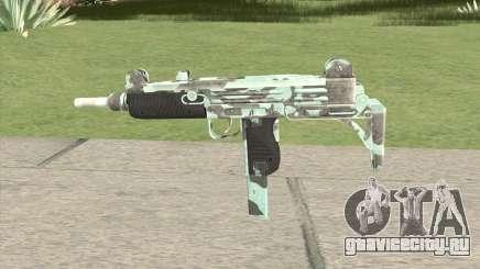Uzi (Aquamarine) для GTA San Andreas