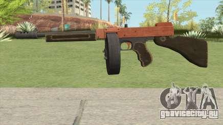 Edinburgh Gusenburg Sweeper GTA V (Orange) V2 для GTA San Andreas