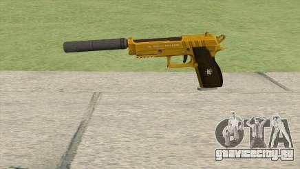 Hawk And Little Pistol GTA V (Gold) V6 для GTA San Andreas