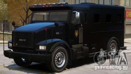 SWAT Armored Van для GTA 4