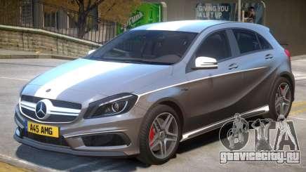 Mersedes Benz A45 V1 PJ9 для GTA 4