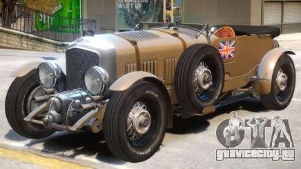 Bentley Blower V1 для GTA 4