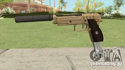 Hawk And Little Pistol GTA V (Army) V7 для GTA San Andreas
