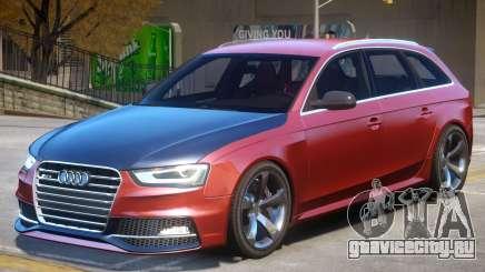 Audi RS4 Avant V1.3 для GTA 4
