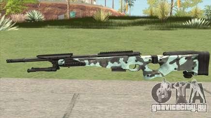 Rifle (Aquamarine) для GTA San Andreas
