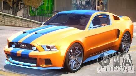 Ford Mustang V1 PJ2 для GTA 4