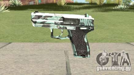 Desert Eagle (Aquamarine) для GTA San Andreas