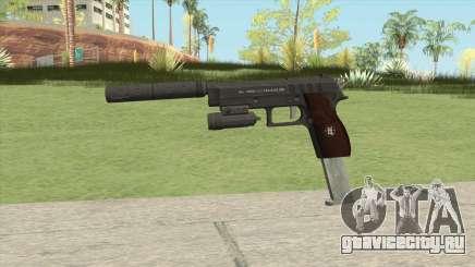 Hawk And Little Pistol GTA V Black (New Gen) V3 для GTA San Andreas