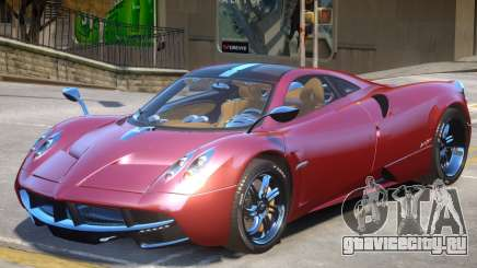 Pagani Huayra furious V1 для GTA 4