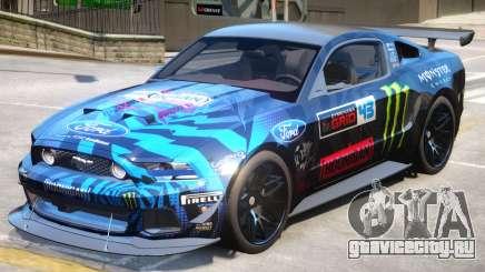 Ford Mustang GT PJ2 для GTA 4