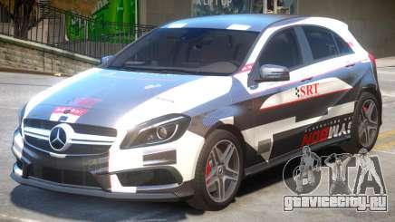 Mersedes Benz A45 PJ3 для GTA 4