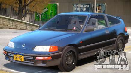 1991 Honda CRX для GTA 4