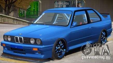1990 BMW M3 для GTA 4