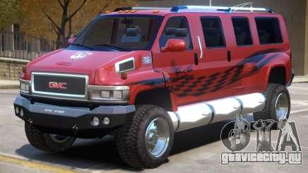 GMC Tough Guy V1 для GTA 4