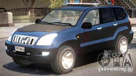 Land Cruiser Prado Police для GTA 4