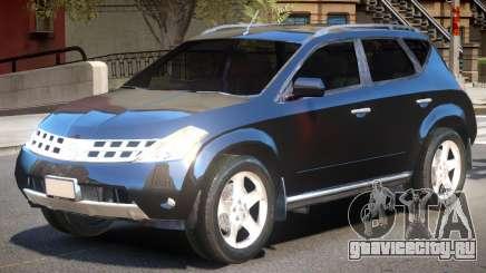 Nissan Murano V1 для GTA 4