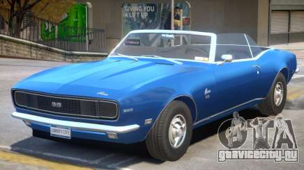 1968 Chevrolet Camaro R1 для GTA 4