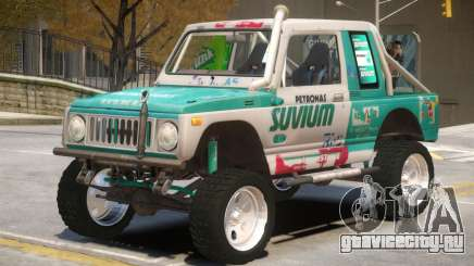 Suzuki Samurai V2 для GTA 4