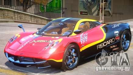 Pagani Huayra furious V1 PJ2 для GTA 4