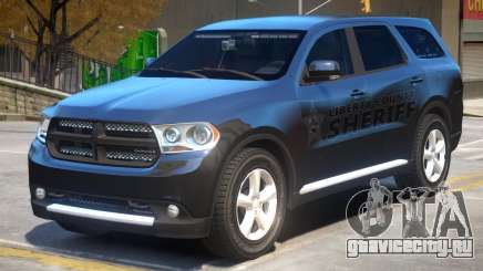 Dodge Durango Sheriff для GTA 4
