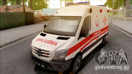Mercedes-Benz Sprinter 2017 Turkish Ambulance для GTA San Andreas