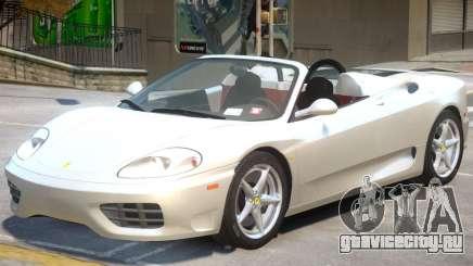 Ferrari 360 Rodster для GTA 4