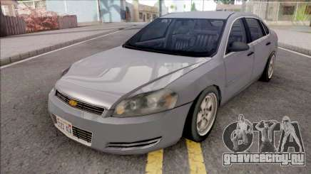 Chevrolet Impala 2007 Lowpoly для GTA San Andreas