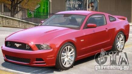 Ford Mustang GT Upd для GTA 4