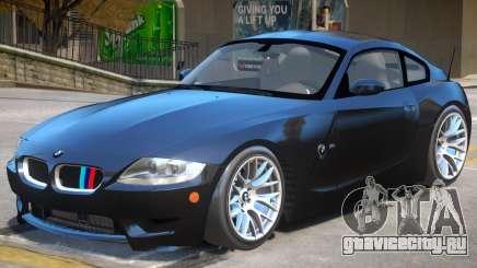 BMW Z4 V1.1 для GTA 4