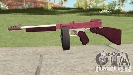 Edinburgh Gusenburg Sweeper GTA V (Pink) V2 для GTA San Andreas
