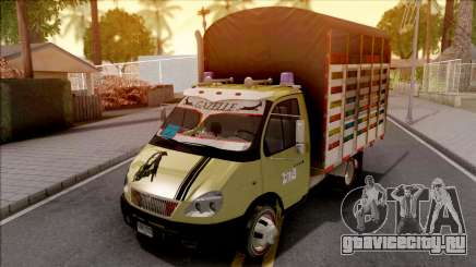GAZ 3302 Colombiano v2 для GTA San Andreas
