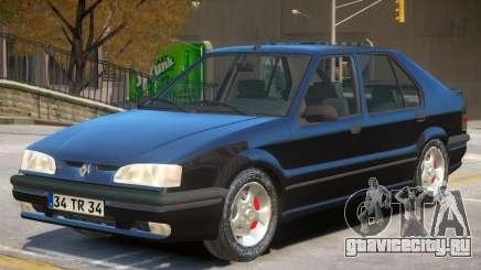 Renault 19 V1 для GTA 4
