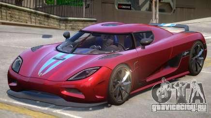 2011 Koenigsegg Agera для GTA 4