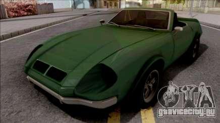 FlatOut Lancea Cabrio для GTA San Andreas