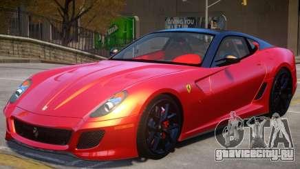 Ferrari 599 GTO V2 для GTA 4