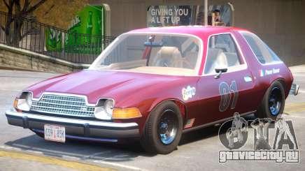 1977 AMC Pacer PJ для GTA 4