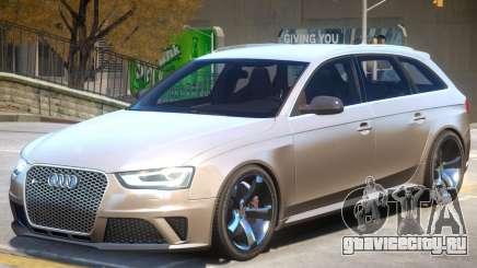 Audi RS4 Avant V1.1 для GTA 4
