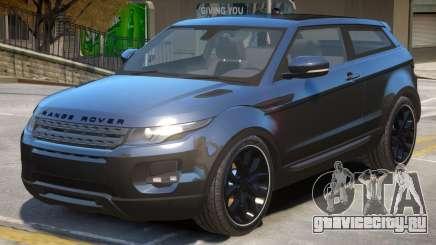 Range Rover Evoque V2 для GTA 4
